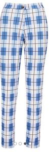 Pants - NWT Boohoo Check Tailored Tapered Trousers
